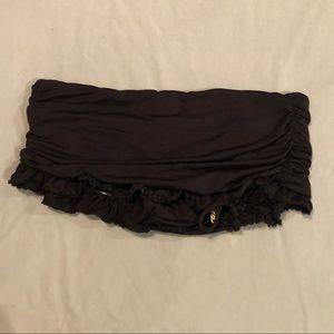 Juicy Couture black bathing suit bottom